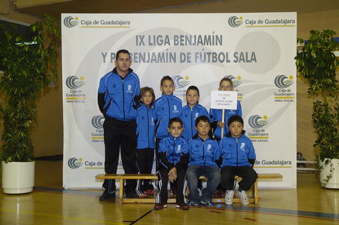 FS Pozo de Guadalajara Benjamín 2007-2008