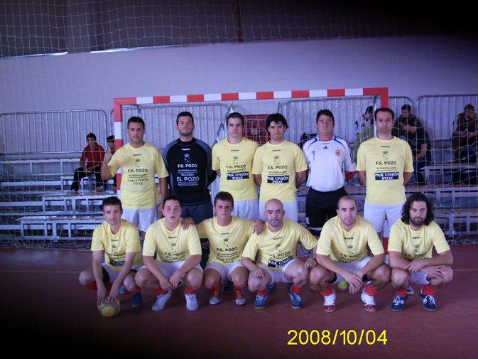 FS Pozo de Guadalajara B Tercera División 2008-2009