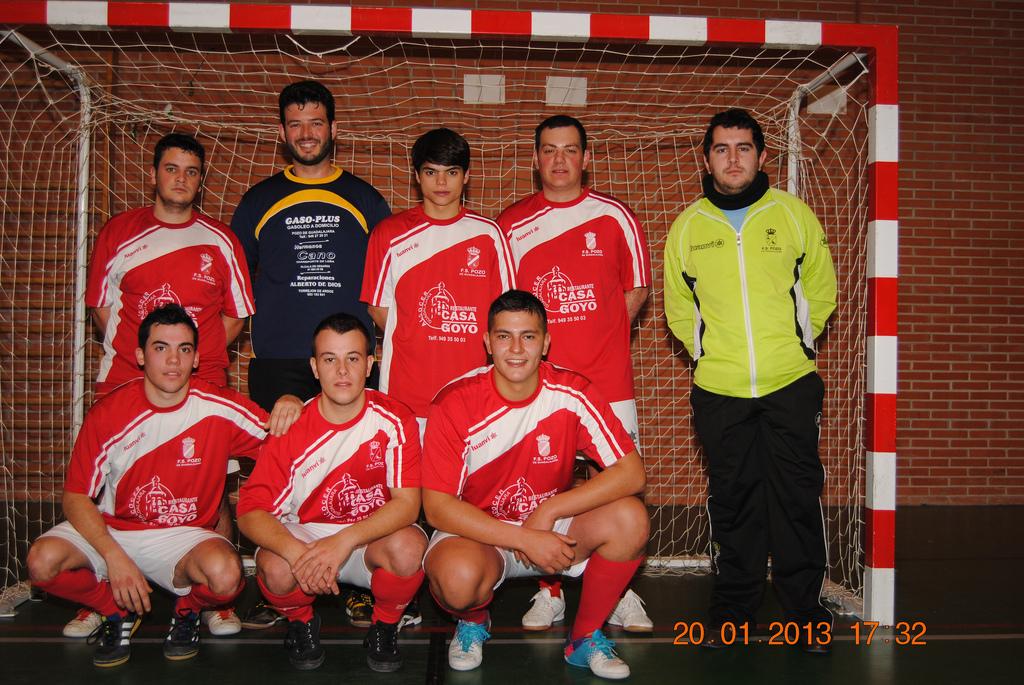Casa Goyo FS Pozo de Guadalajara Plata 12-13
