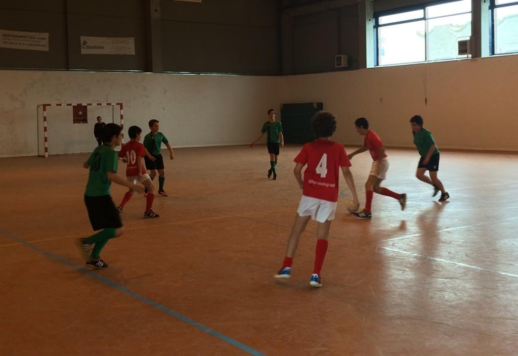 FS Pozo de Guadalajara infantil - Montecalderón 26-4-14