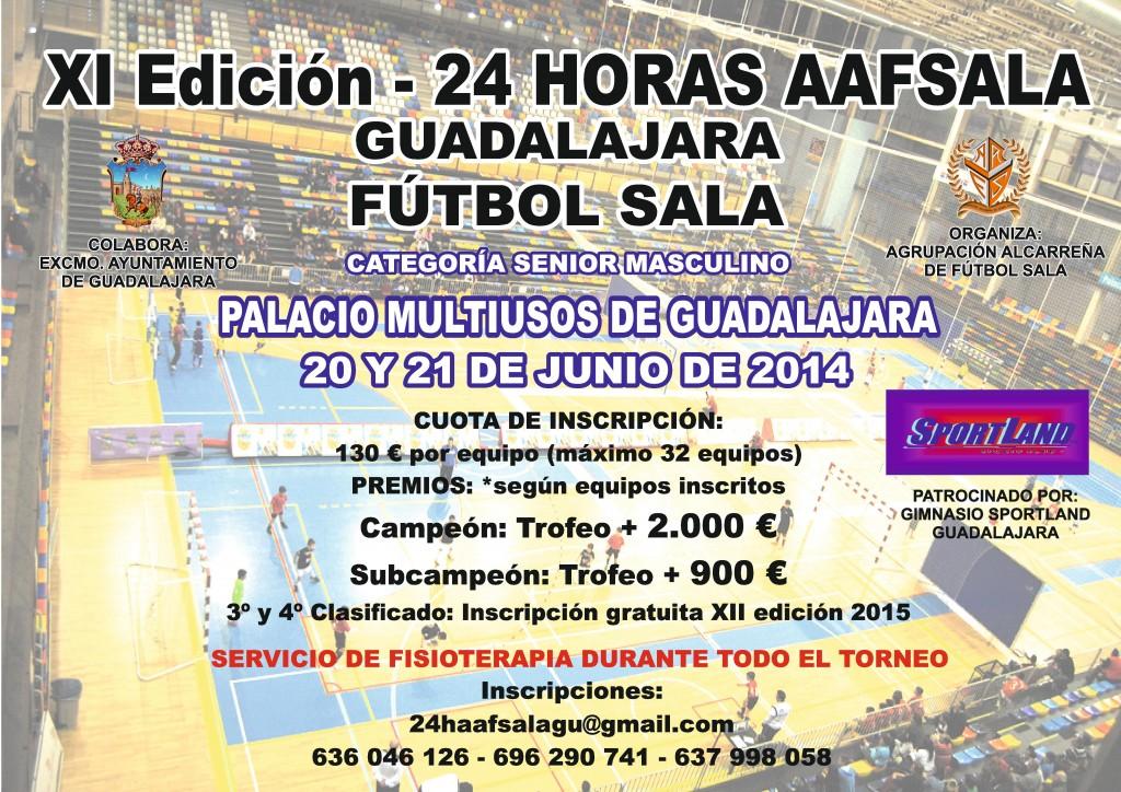 IX 24 horas fútbol-sala Guadalajara, 2014
