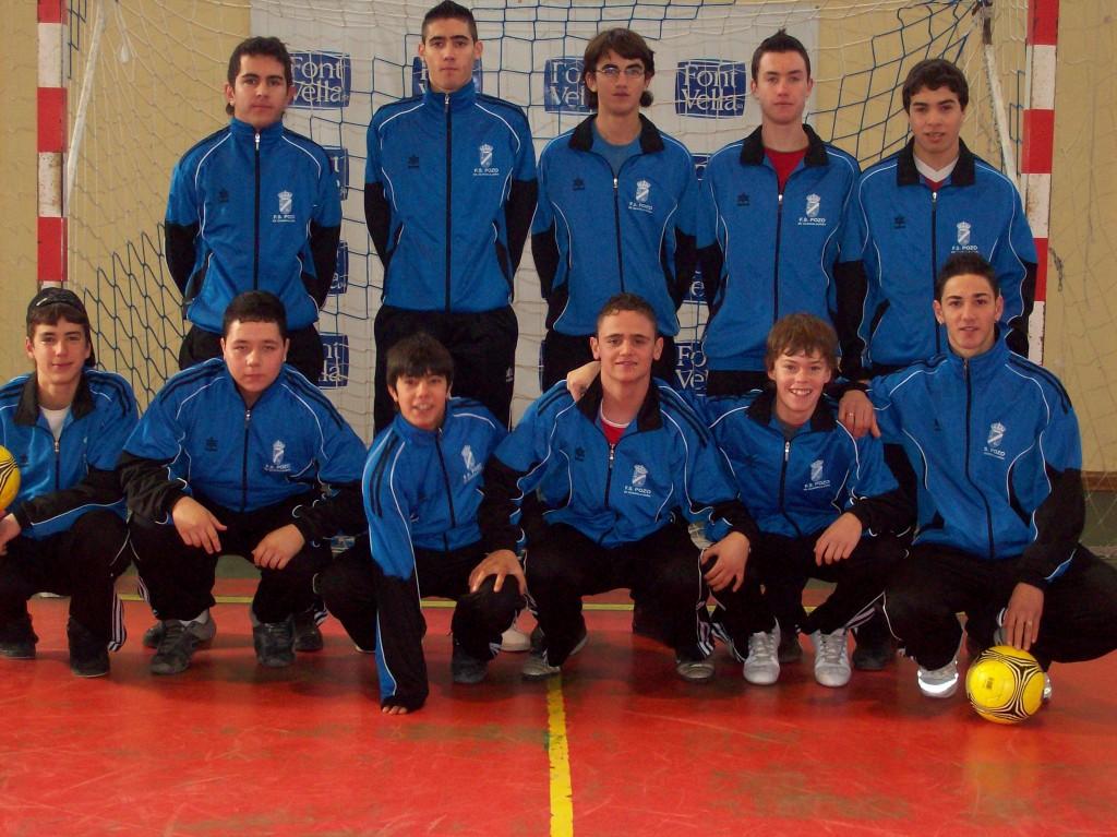 FS Pozo de Guadalajara juvenil Chándal 07-08