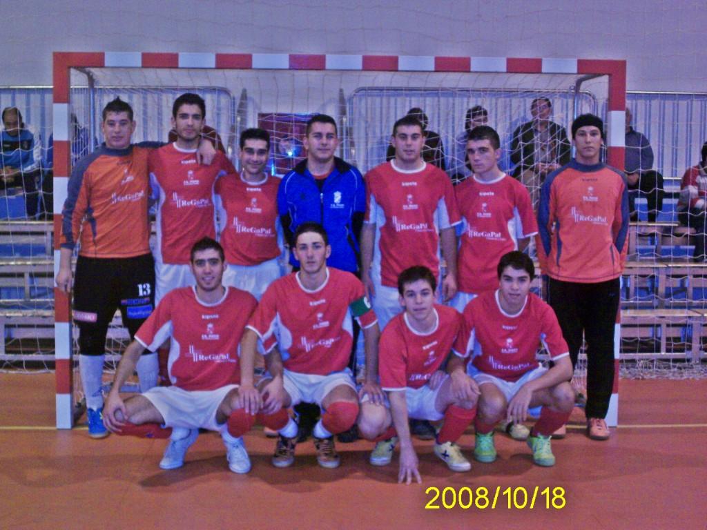 FS Pozo de Guadalajara Primera Nacional B 08-09