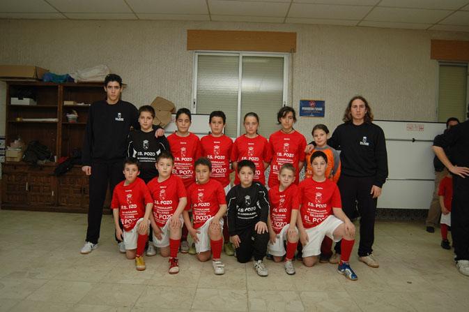 FS Pozo de Guadalajara alevín 2006-2007