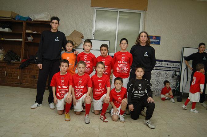 FS Pozo de Guadalajara benjamín Temporada 2006-2007