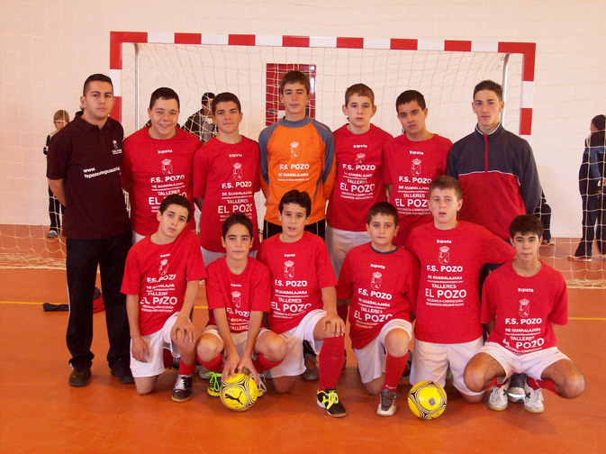 FS Pozo de Guadalajara Cadete 2007-2008
