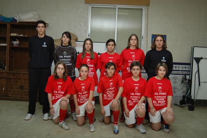 FS Pozo de Guadalajara femenino 2006-2007