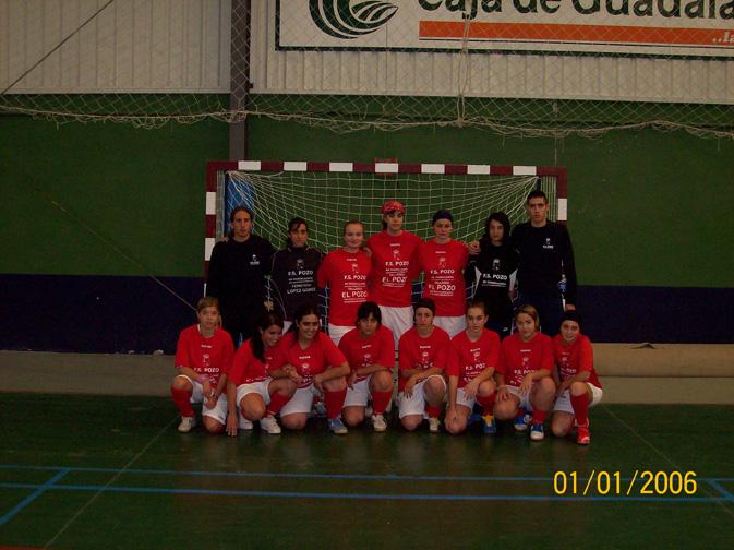 FS Pozo de Guadalajara Femenino 2007-2008