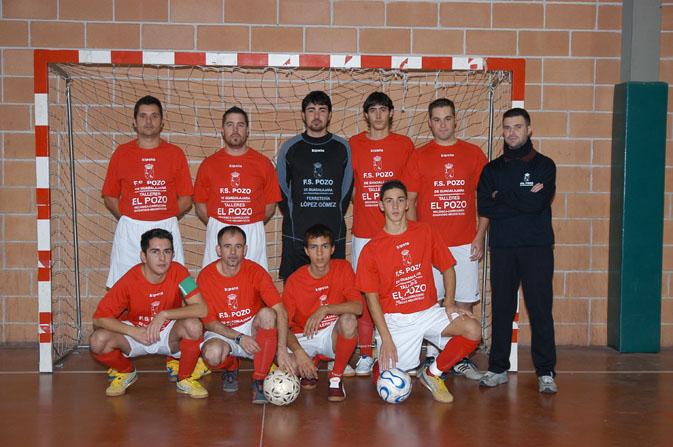 FS Pozo de Guadalajara senior Tercera división 2006-2007