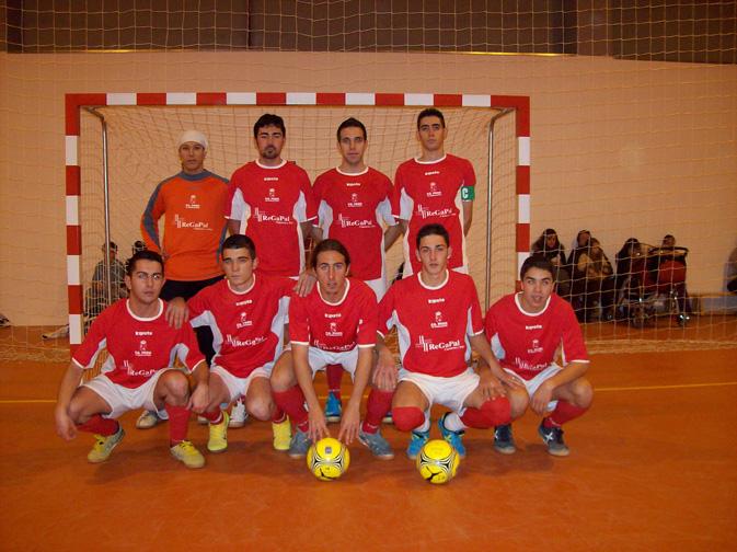FS Pozo de Guadalajara Tercera división 2007-2008