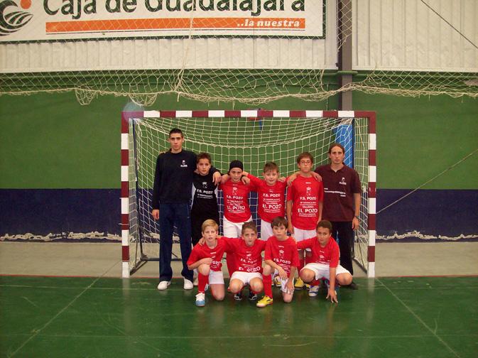 FS Pozo de Guadalajara alevín 2007-2008
