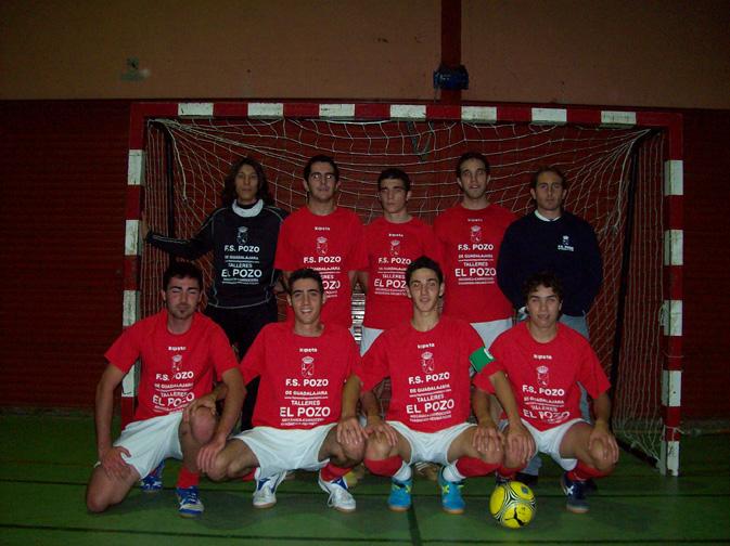 FS Pozo de Guadalajara Senior Tercera División Previa Copa Diputación ante Salesianos 2007-2008