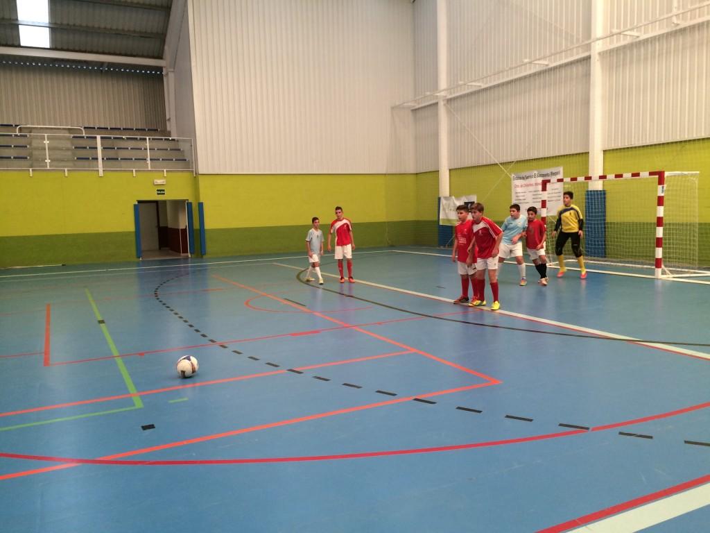 EMD Chiloeches - FS Pozo de Guadalajara amistosos 17-10-14 infantil