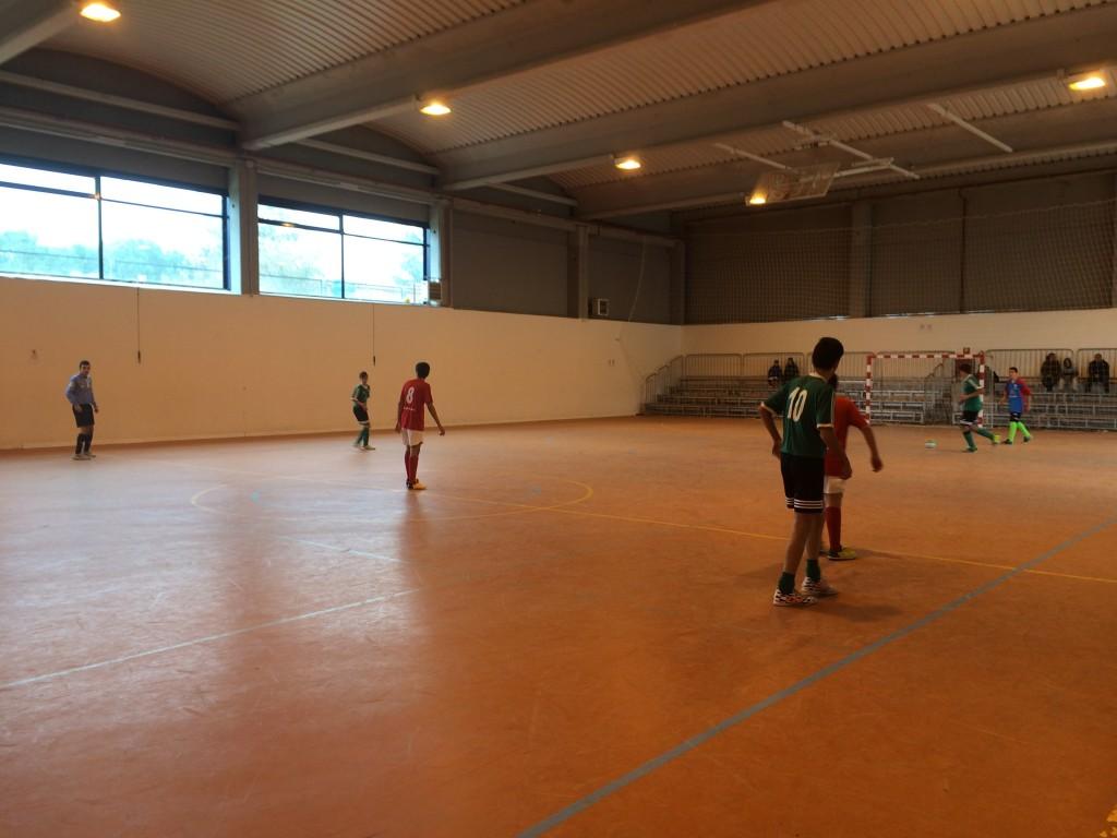 FS Pozo de Guadalajara - Montecalderón cadete 13-12-14