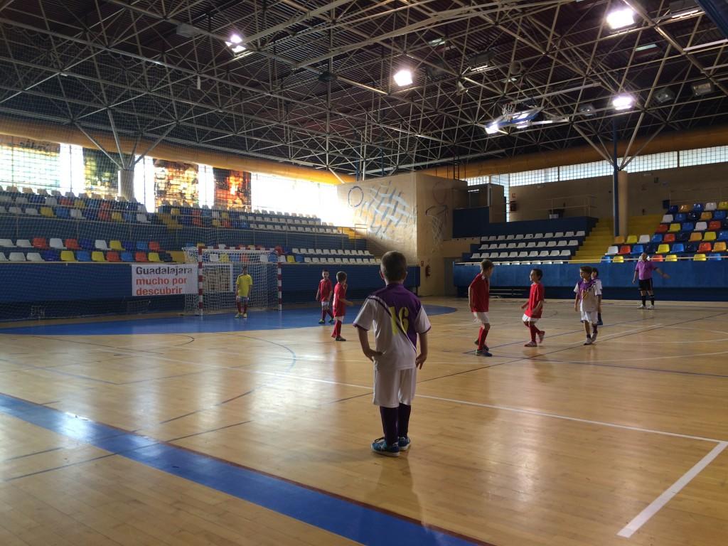 FS Pozo de Guadalajara - Guadalajara Sala B benjamín 20-12-14