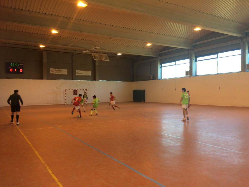 FS Pozo de Guadalajara - Viana FC cadete 17-1-15