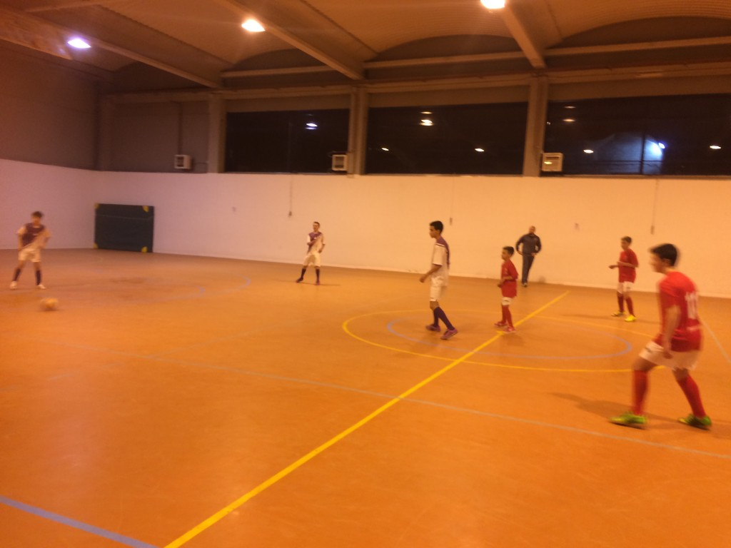 FS Pozo de Guadalajara - Guadalajara Sala B infantil 9-1-15