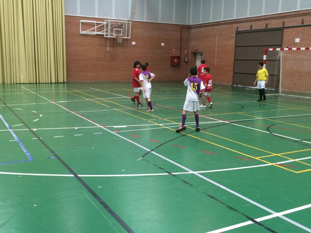 Guadalajara Sala A - FS Pozo de Guadalajara alevín 11-4-15