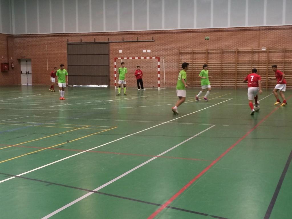 Viana FC - FS Pozo de Guadalajara cadete 18-4-15