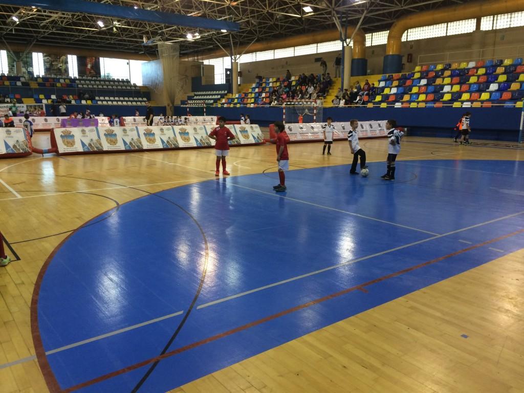 Santa Cruz - FS Pozo de Guadalajara prebenjamín 19-4-15