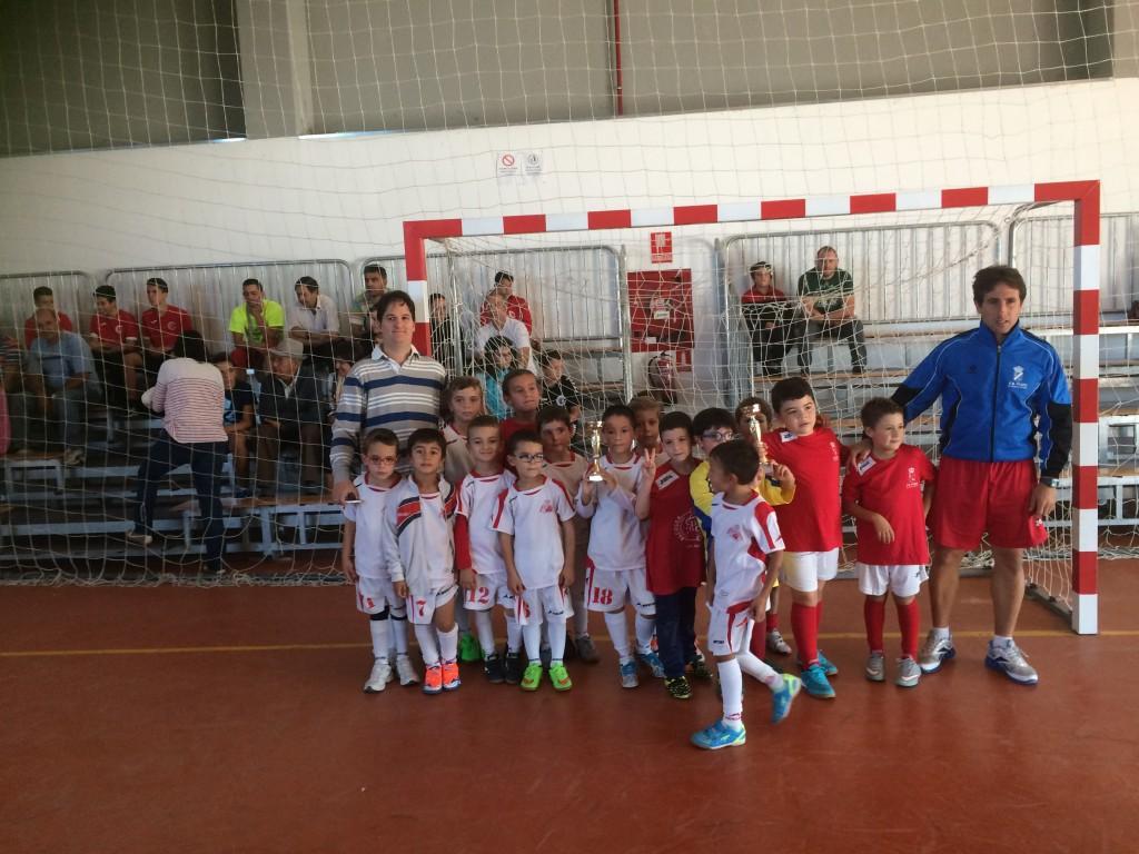 FS Pozo de Guadalajara - CGR Distrito III prebenjamín I Torneo San Mateo F.S. 2015 Pozo de Guadalajara