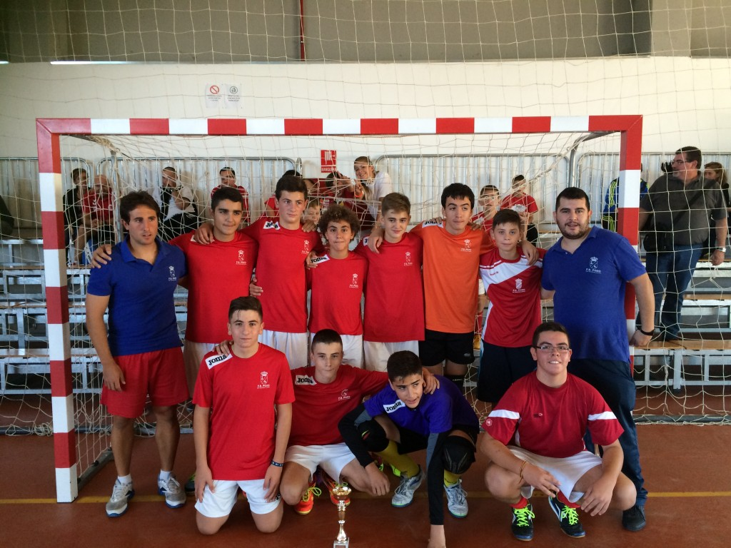 FS Pozo de Guadalajara - CDE Guadalajara FS cadete I Torneo San Mateo F.S. 2015 Pozo de Guadalajara