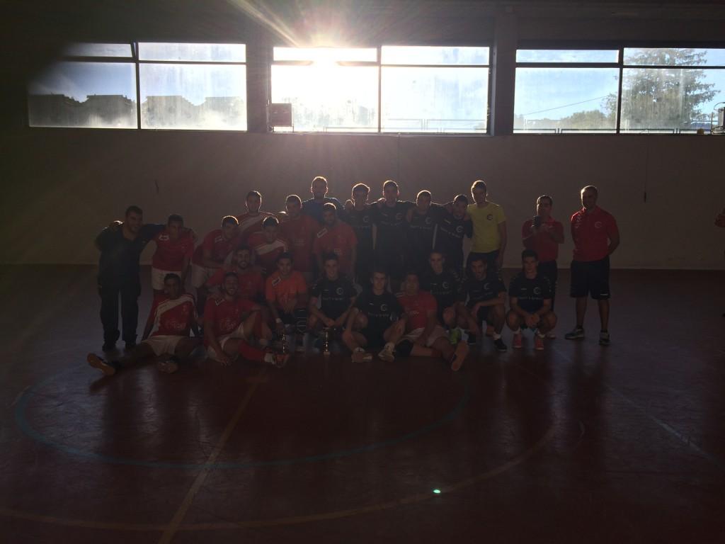 Casa Goyo/FS Pozo de Guadalajara - CDE Guadalajara FS B honor I Trofeo F.S. Fiestas San Mateo Pozo de Guadalajara 2015