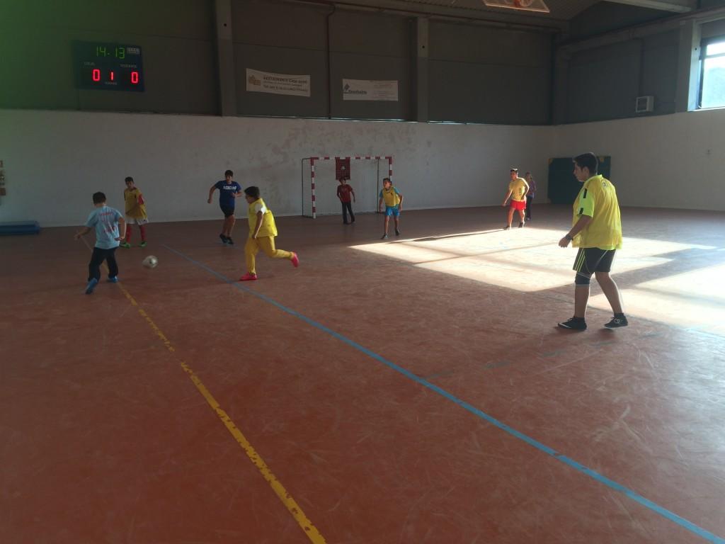 II Día del Fútbol-Sala Fiestas Pozo de Guadalajara 2015