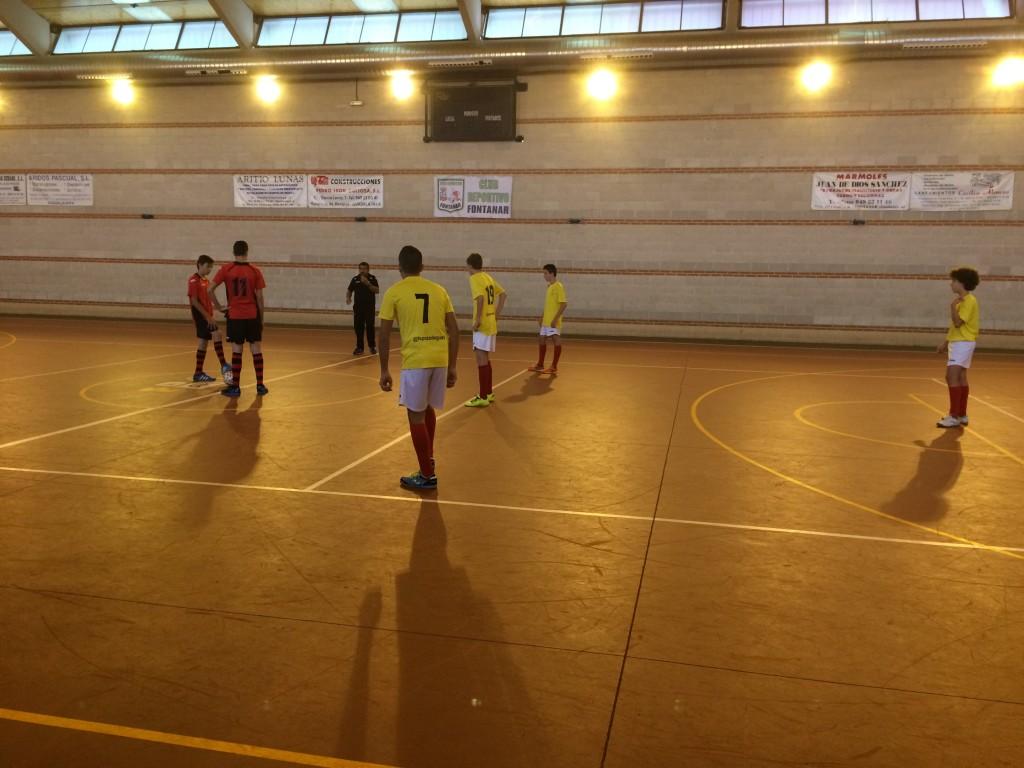CD Fontanar - FS Pozo de Guadalajara cadete 1-11-15