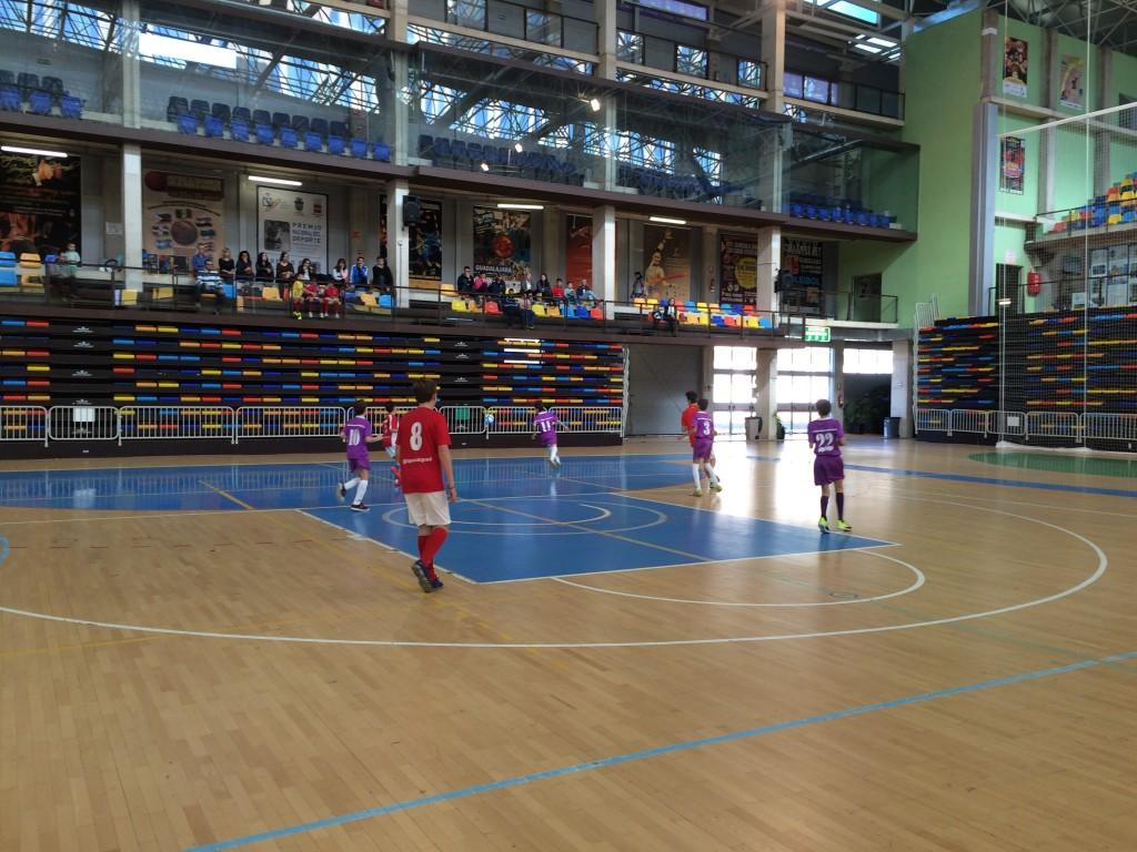 Guadalajara Sala - FS Pozo de Guadalajara infantil 7-11-15