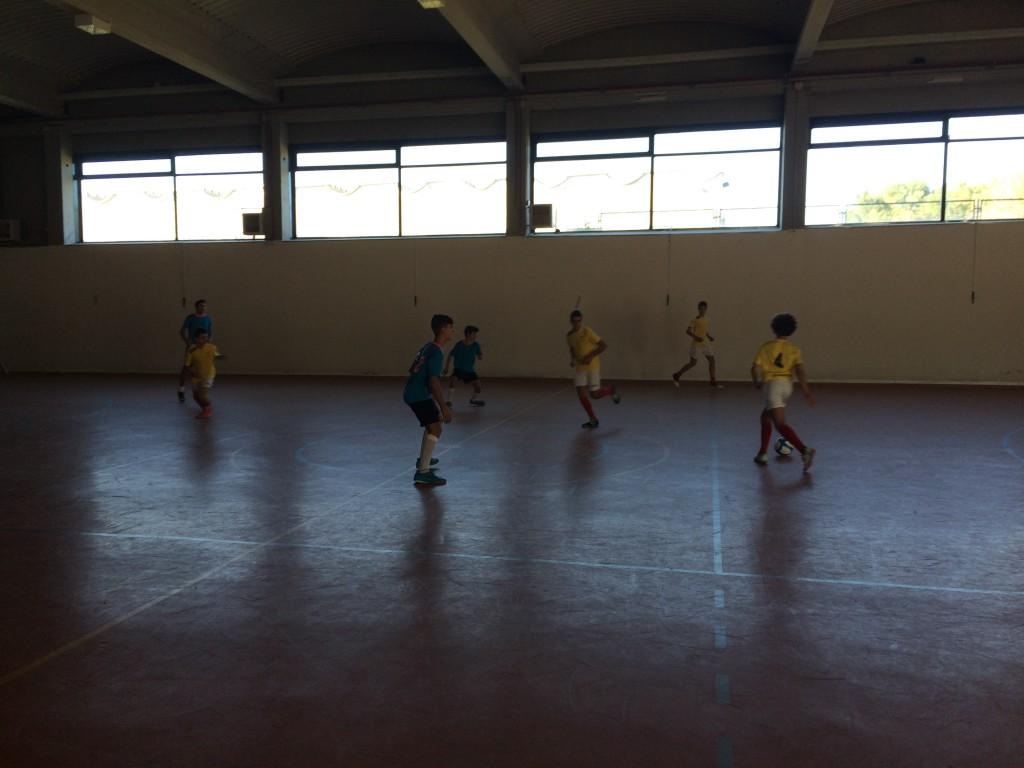 FS Pozo de Guadalajara - CSK Pioz cadete 14-11-15