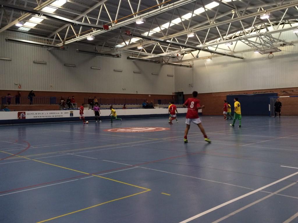 Isover FS - Casa Goyo/FS Pozo de Guadalajara honor 14-11-15