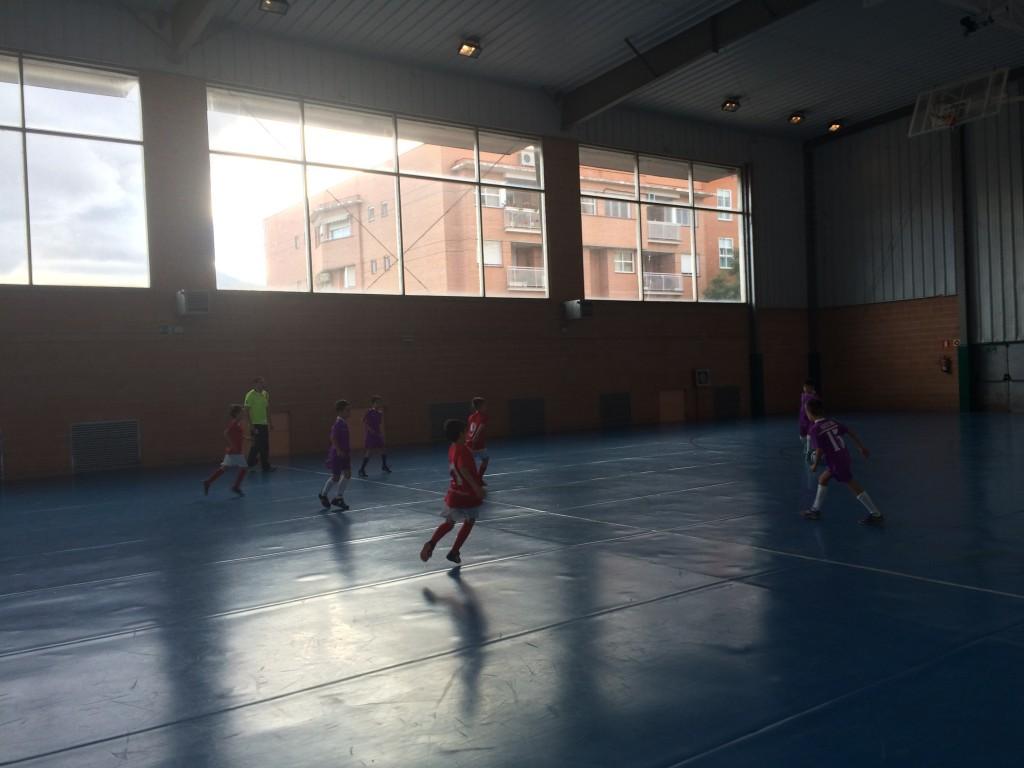 FS Pozo de Guadalajara - Guadalajara Sala C benjamín 21-11-15