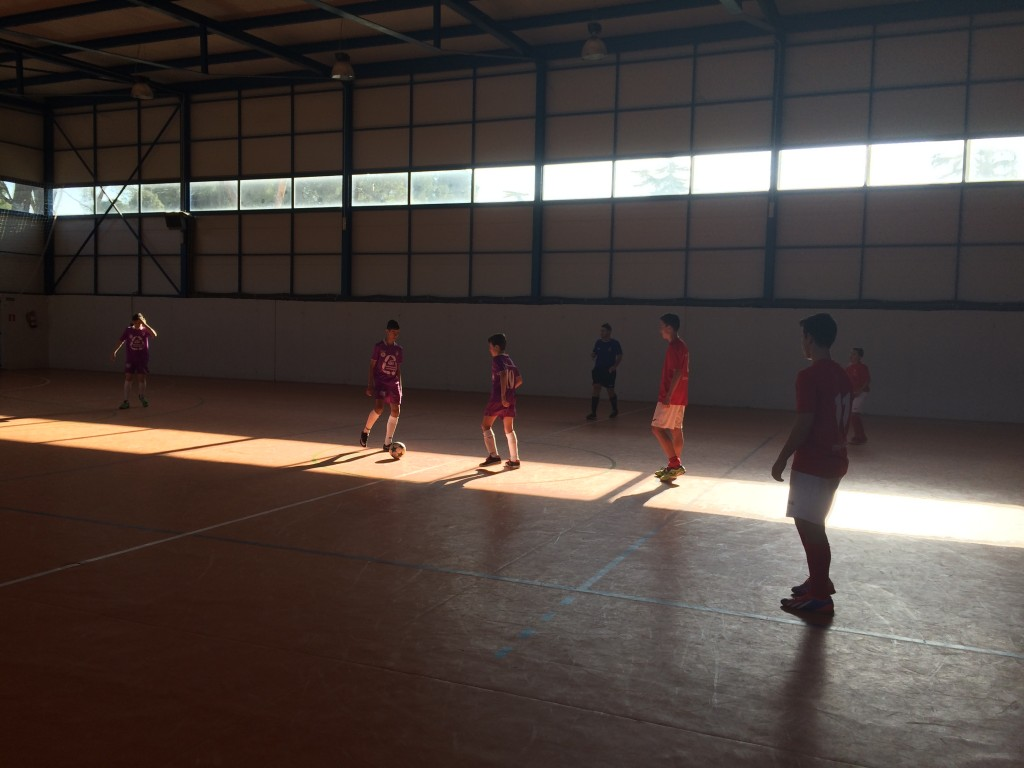 Guadalajara Sala A - FS Pozo de Guadalajara infantil 13-12-15