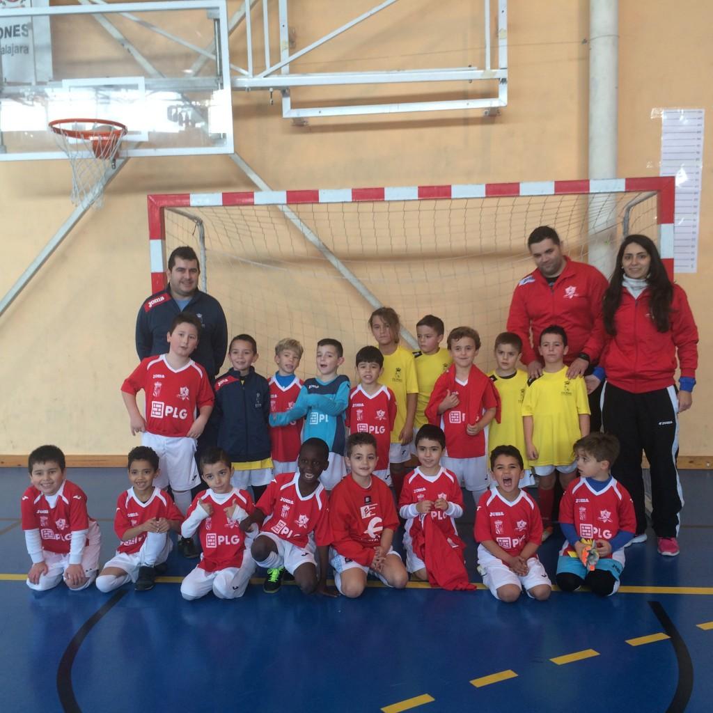 I Torneo Interescuelas fútbol-sala Yunquera de Henares PLG Yunquera - FS Pozo de Guadalajara prebenjamín 2-1-16