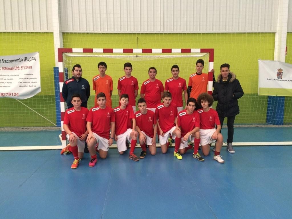 EMD Chiloeches - FS Pozo de Guadalajara cadete 16-1-16
