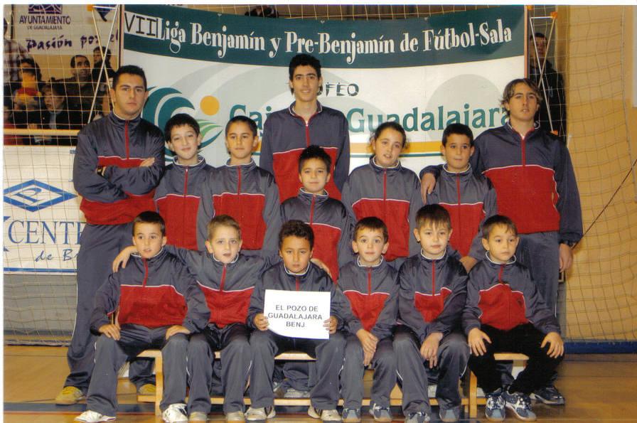 Inauguración Liga benjamín 05-06 FS Pozo de Guadalajara, 22-1-06