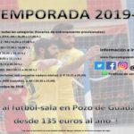 Cartel FS Pozo de Guadalajara 19-20