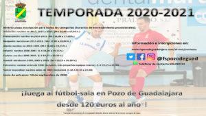 Cartel 2021 FS Pozo de Guadalajara