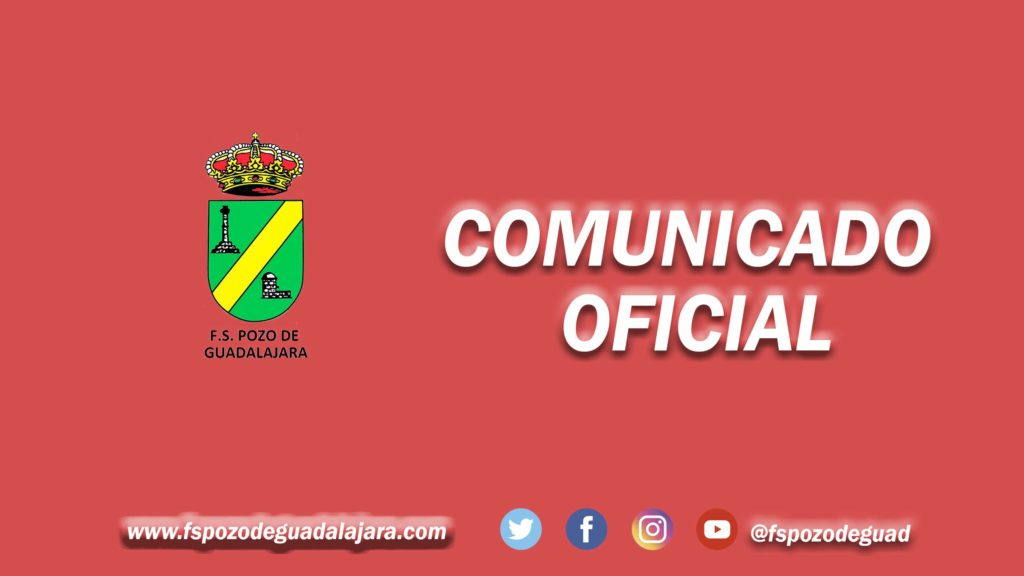 Comunicado Oficial FS Pozo de Guadalajara